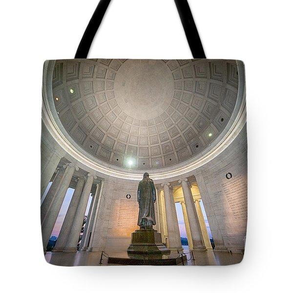 Jefferson's Back Tote Bag