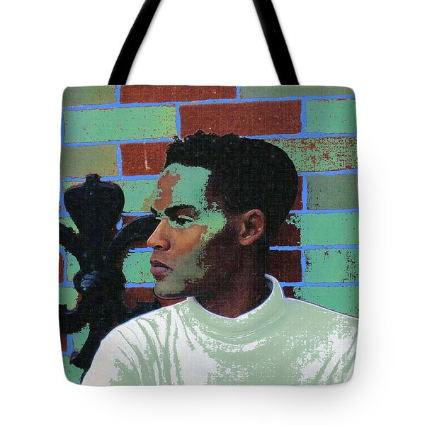 Jeffrey Burton Fisher 1989 Tote Bag by Feile Case
