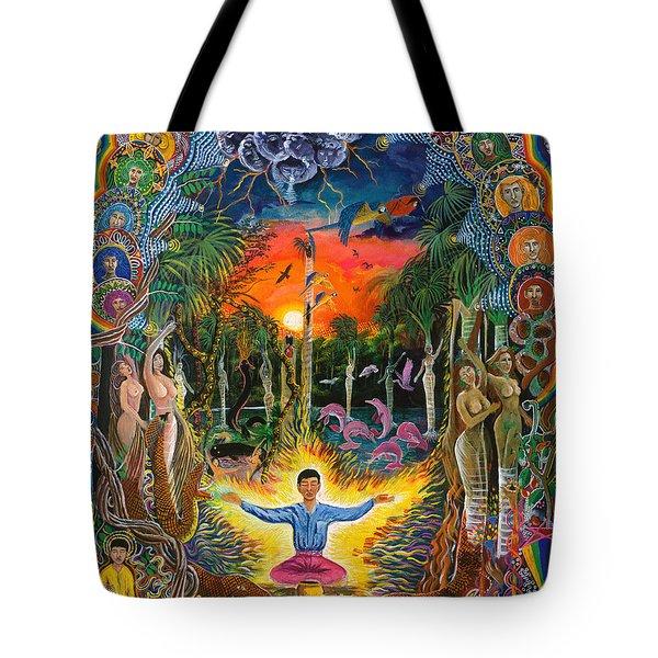 Jehua Supai Tote Bag by Pablo Amaringo