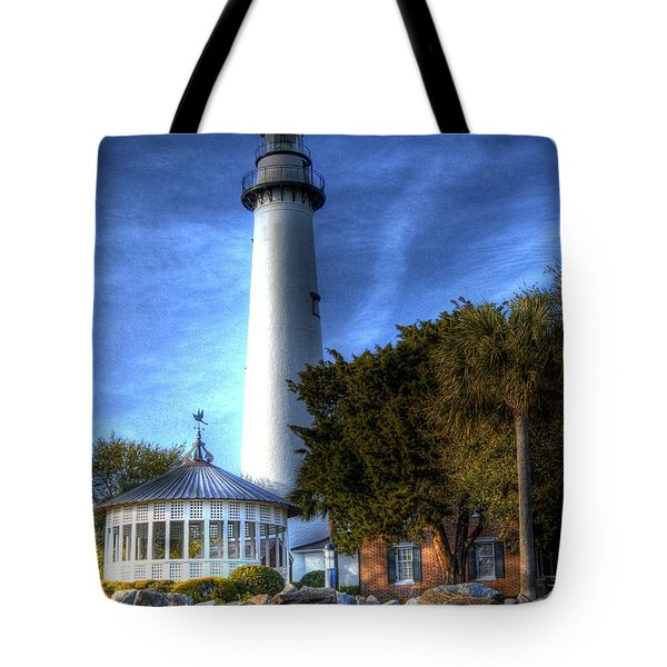 Jekyll Island Lighthouse Tote Bag