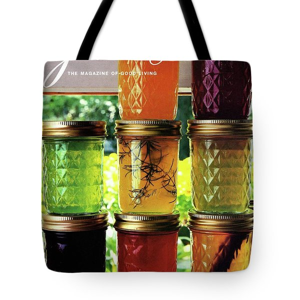 Jellies In A Window Tote Bag