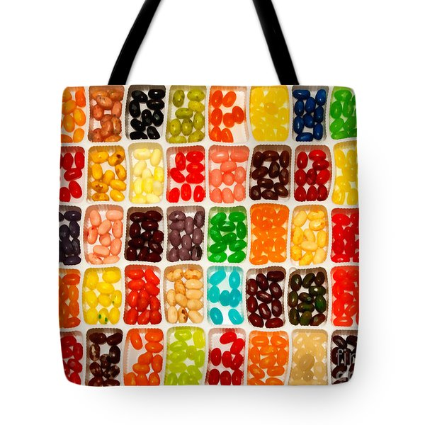 Jelly Beans Tote Bag by Anne Kitzman