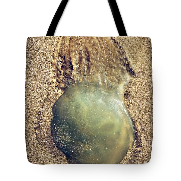 Jellyfish Tote Bag by Carlos Caetano