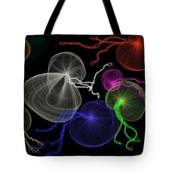 Jellyfish Jam Tote Bag by Renee Michelle Wenker