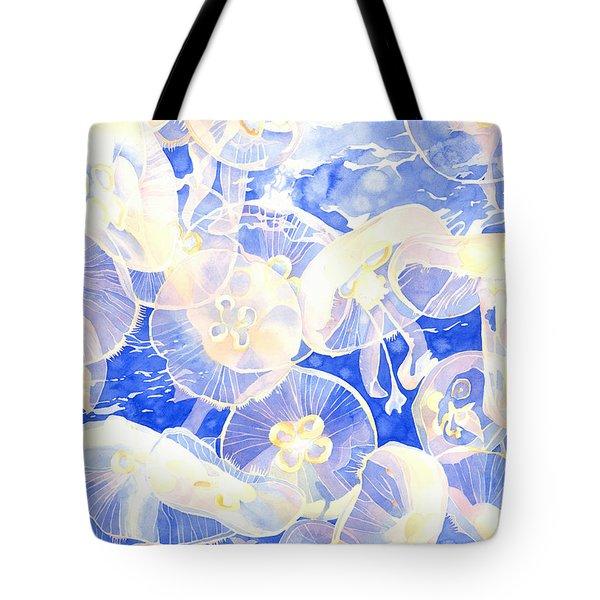 Jellyfish Jubilee Tote Bag