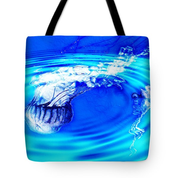 Jellyfish Pool Tote Bag by Methune Hively