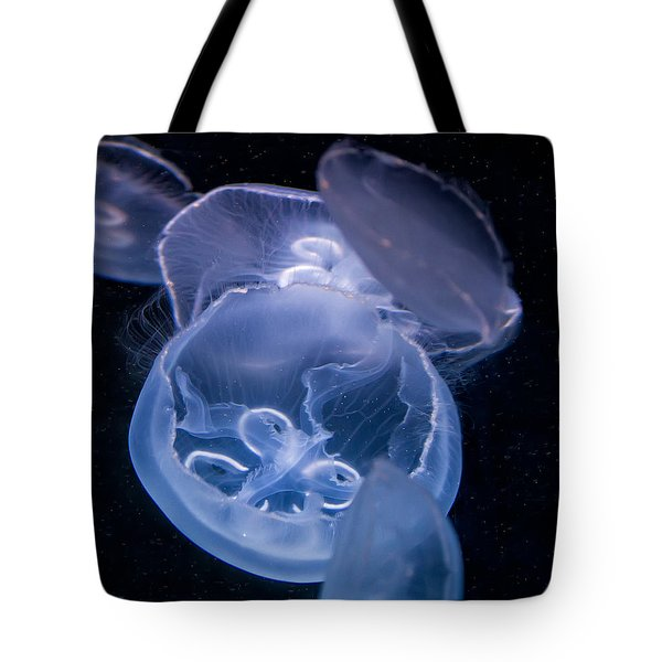 Tote Bag featuring the photograph Jellyfish by Tim Stanley