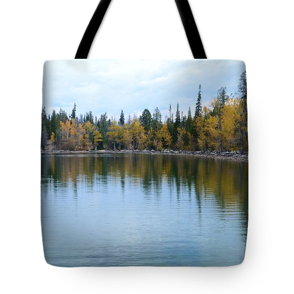 Jenny Lake Tote Bag by Kathleen Struckle