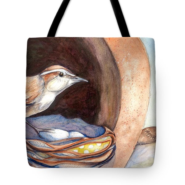 Jenny Wrens Tote Bag