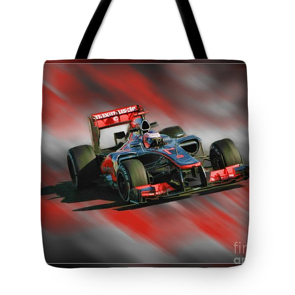 Jenson Button  Tote Bag