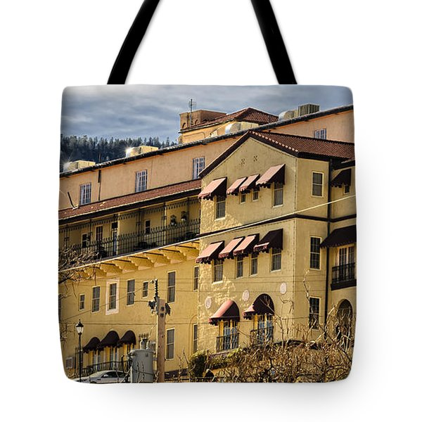 Tote Bag featuring the photograph Jerome Grand Hotel No.18 by Mark Myhaver