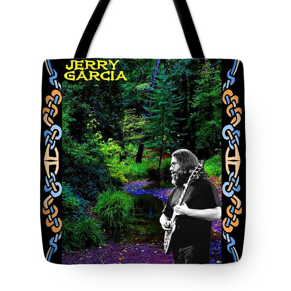 Tote Bag featuring the photograph Jerry At Psychedelic Creek by Ben Upham