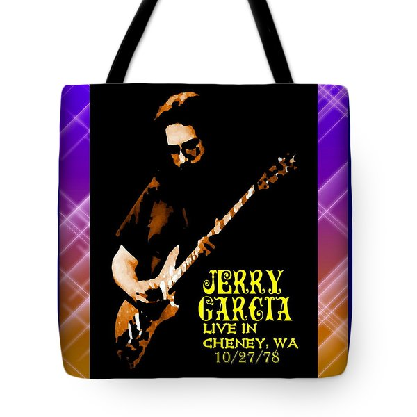 Tote Bag featuring the photograph Jerry Cheney 1 by Ben Upham