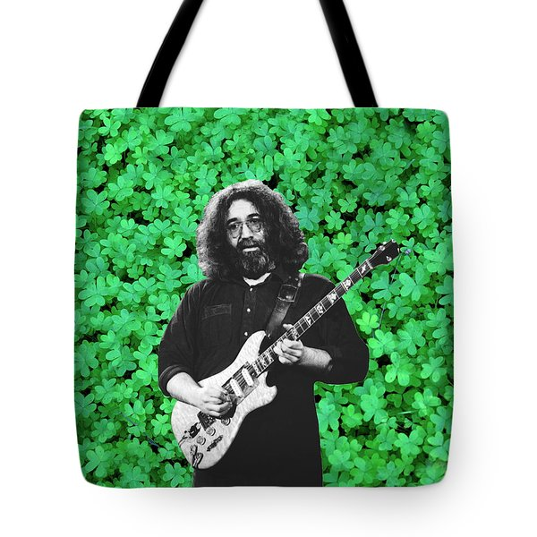Tote Bag featuring the photograph Jerry Clover 1 by Ben Upham