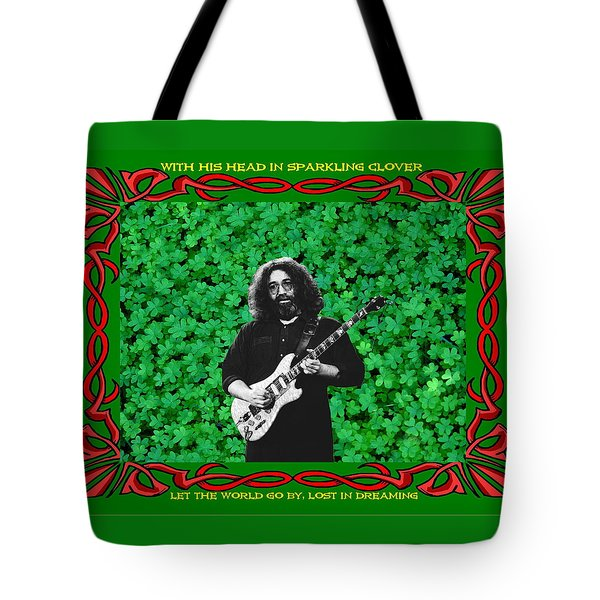 Tote Bag featuring the photograph Jerry Clover 3 by Ben Upham
