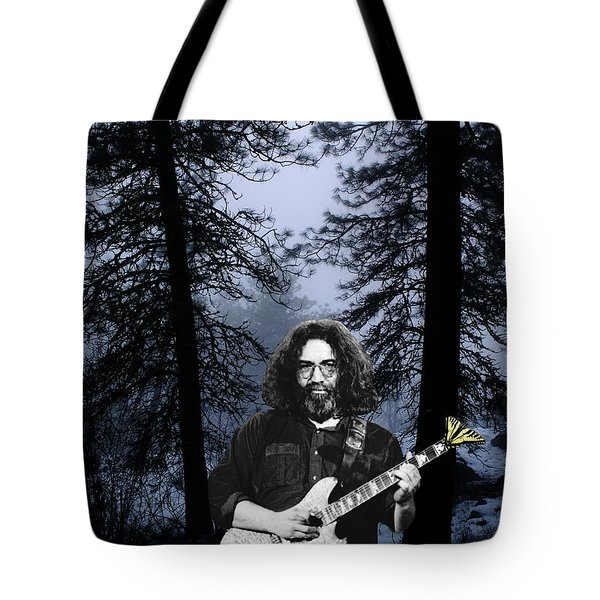 Tote Bag featuring the photograph Jerry Cold Rain And Snow by Ben Upham