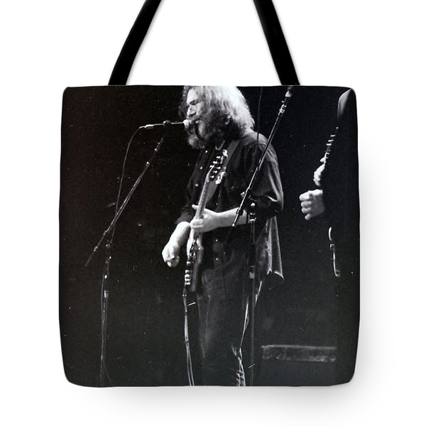 Tote Bag featuring the photograph Grateful Dead -  In And Out Of The Garden  by Susan Carella