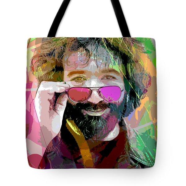 Jerry Garcia Art Tote Bag