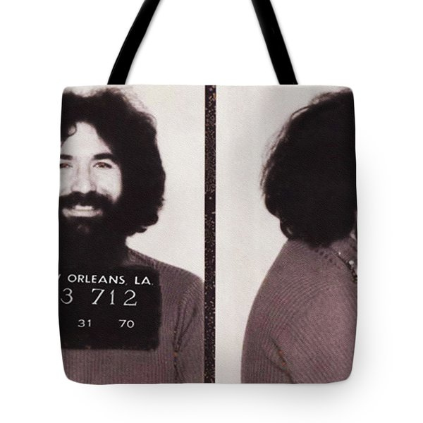 Jerry Garcia Mugshot Tote Bag