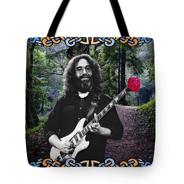 Jerry Road Rose 1 Tote Bag