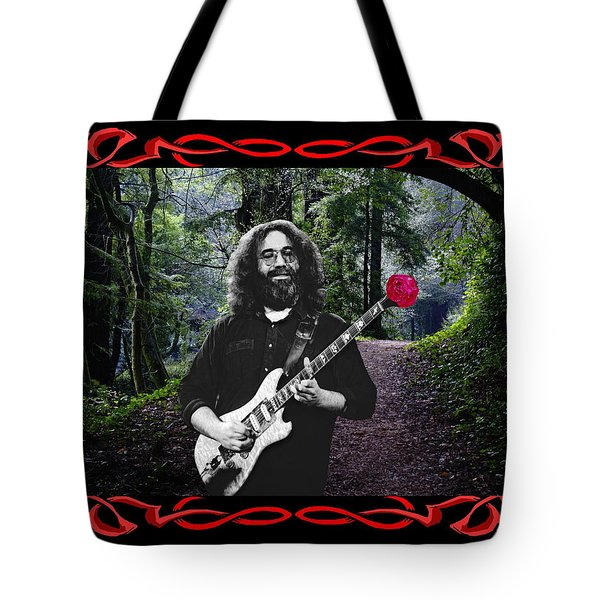 Tote Bag featuring the photograph Jerry Road Rose 2 by Ben Upham