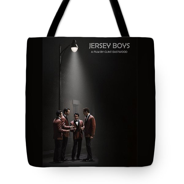 Jersey Boys By Clint Eastwood Tote Bag