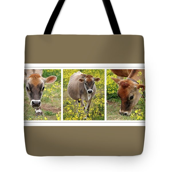 Jersey Fields Of Gold Tote Bag