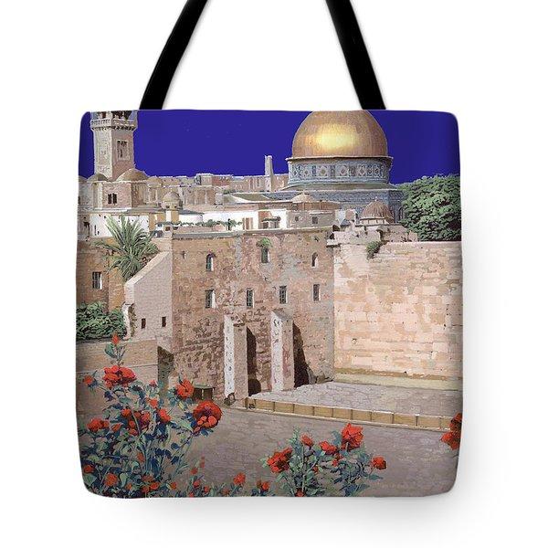 Jerusalem Tote Bag by Guido Borelli