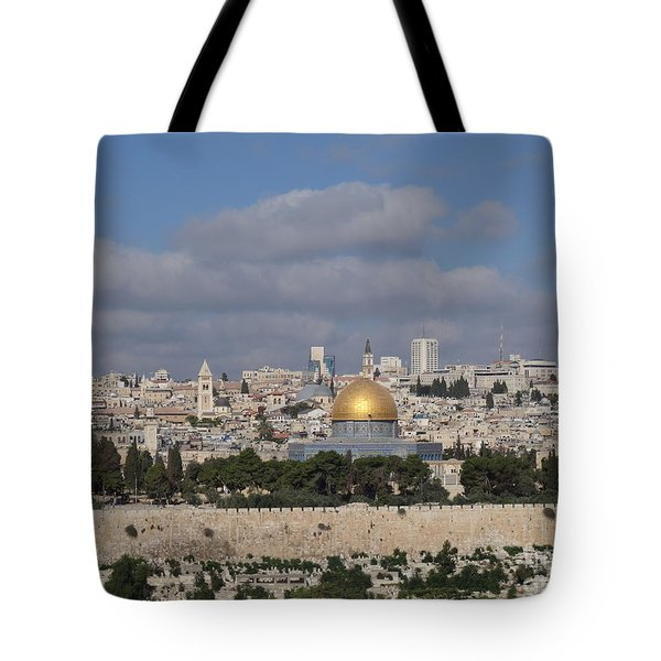 Jerusalem Old City Tote Bag