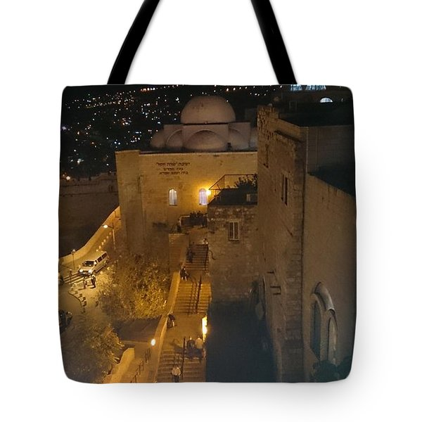 Jerusalem The Old City  Tote Bag