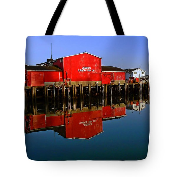 Jessies Ilwaco Fish Company Tote Bag