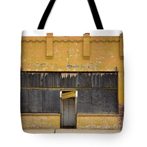 Jesus At The Door Tote Bag by Derry Murphy