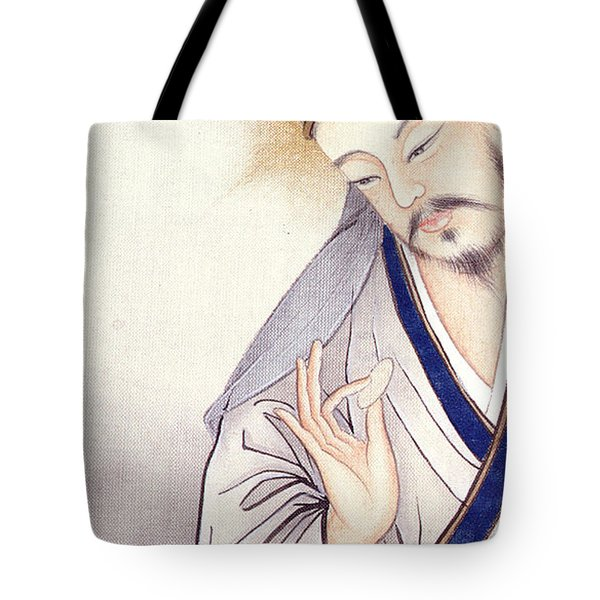Jesus At The Last Supper  Tote Bag by Chinese School