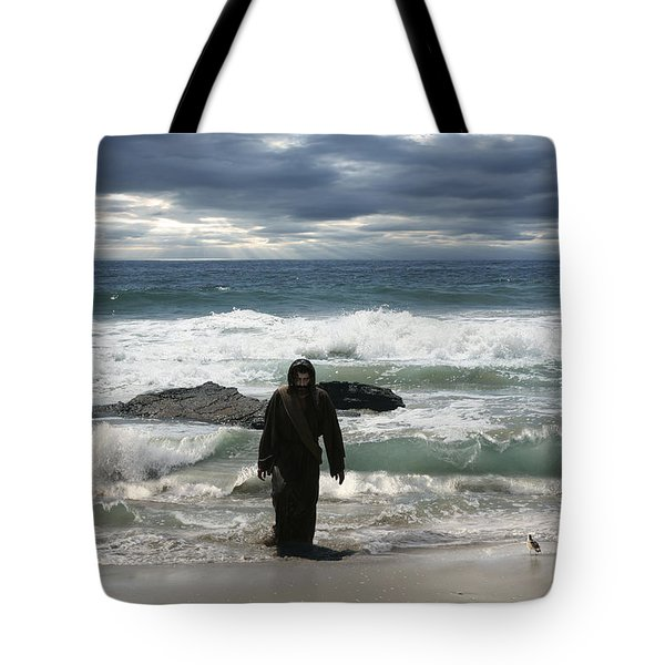 Jesus Christ- Behold I Come Quickly Tote Bag
