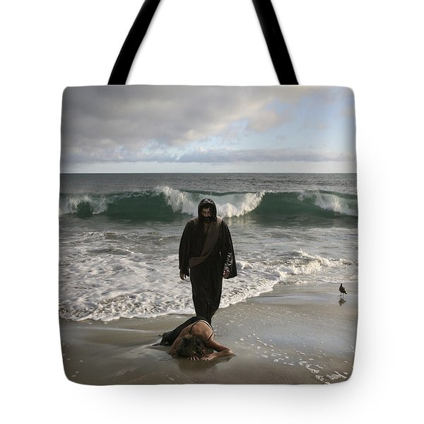 Jesus Christ- I Love You So Much Don't Cry I'm Here Tote Bag