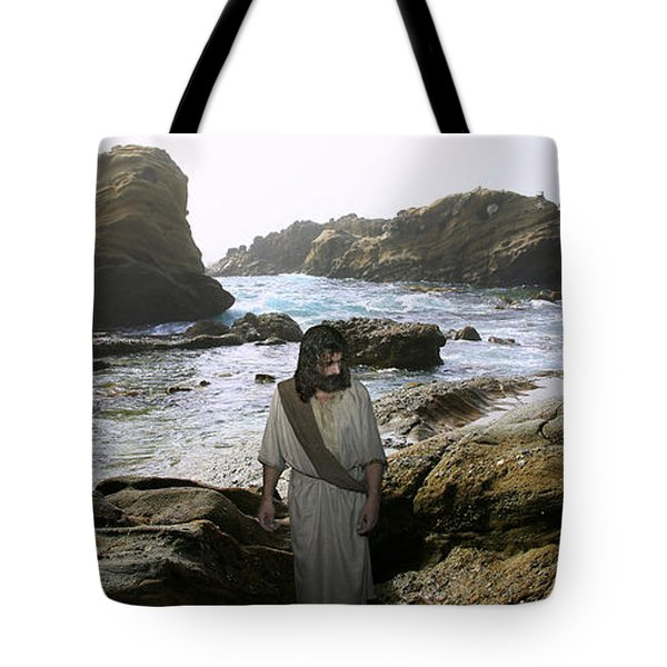 Jesus Christ- In The Company Of Angels Tote Bag