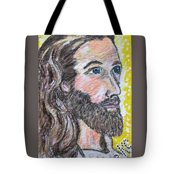 Jesus Christ Tote Bag by Kathy Marrs Chandler