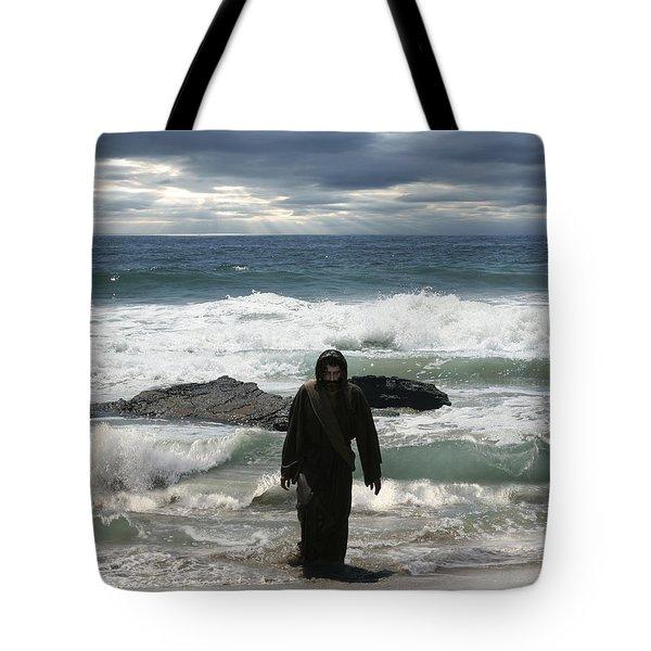 Jesus Christ- Look I Am Coming Soon Tote Bag