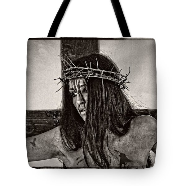 Jesus Christ Portrait Tote Bag