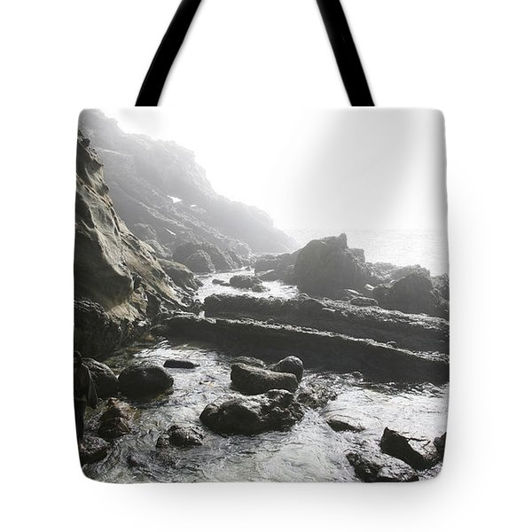 Jesus Christ- Walking Among Angel Mist Tote Bag