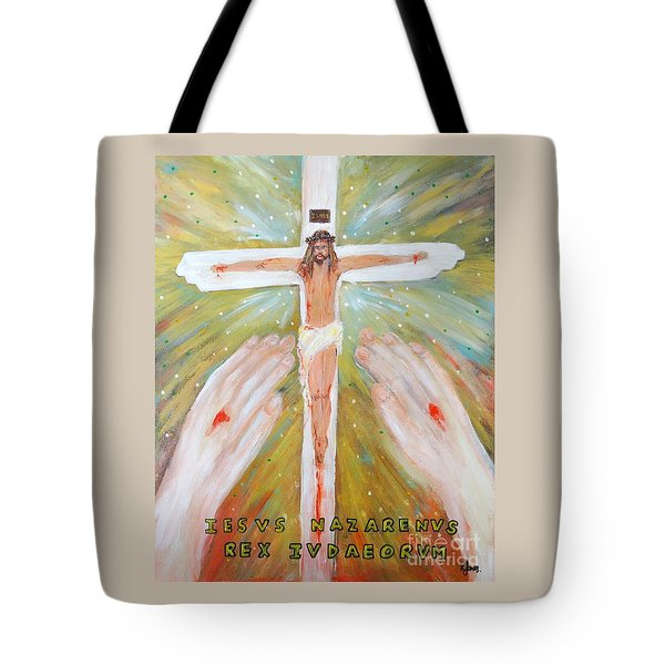 Jesus - King Of The Jews Tote Bag