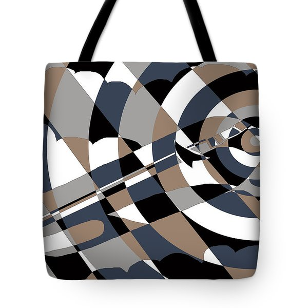 Jet In The Clouds Tote Bag