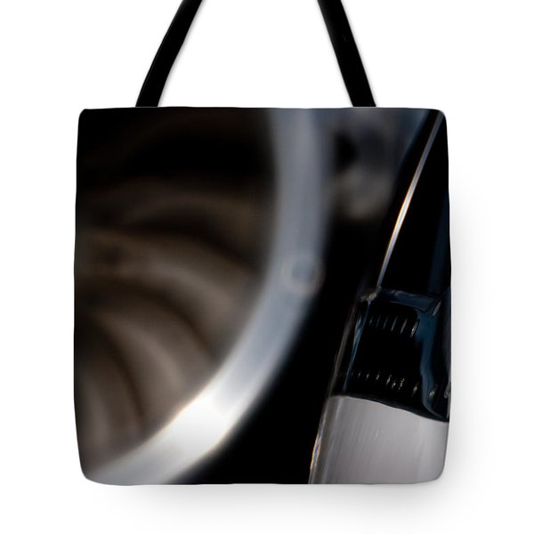 Jet Power Tote Bag by Paul Job