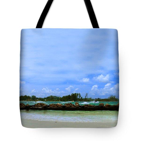Jet Skis In Longboat Pass Tote Bag