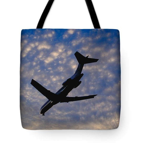 Jet Take Off Tote Bag by Will and Deni McIntyre