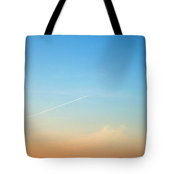 Jet To Sky Tote Bag