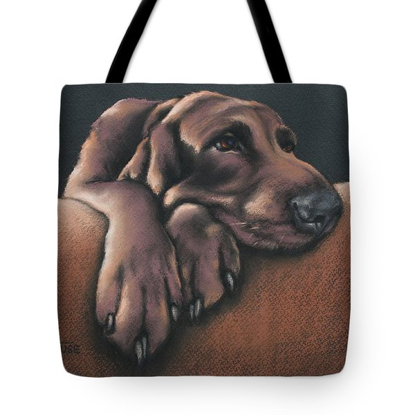 Tote Bag featuring the pastel Jethro by Cynthia House
