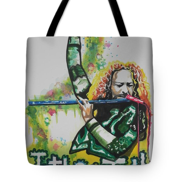 Jethro Tull Tote Bag by Chrisann Ellis
