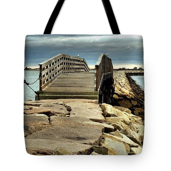 Jetty Bridge Tote Bag