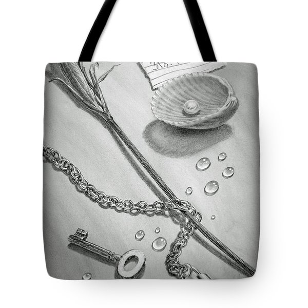 Jewels Of Love Tote Bag by Irina Sztukowski